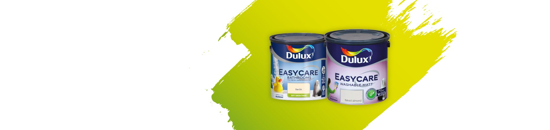 Buy any 2 x 2.5lt Dulux Easycare for €45