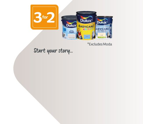 3for2 Dulux Interior Paint