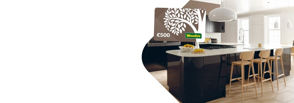 €500 Voucher with Kitchens