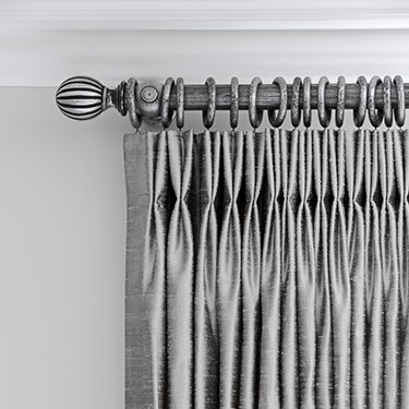bje diameter finials dia set black products curtain metal wrap with groove rods curtains jet finial pole walcot