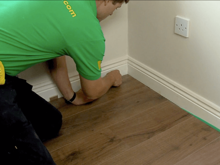 17 Remove All Spacers From Around The Room