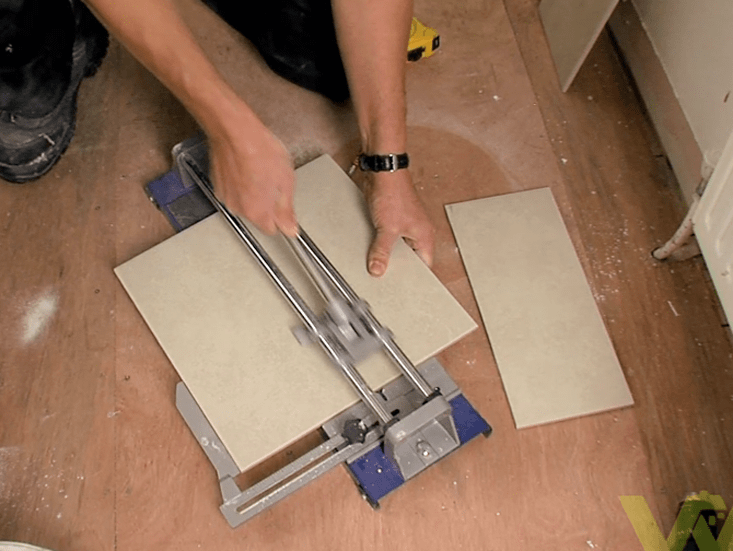 How To Tile A Bathroom Floor Woodies