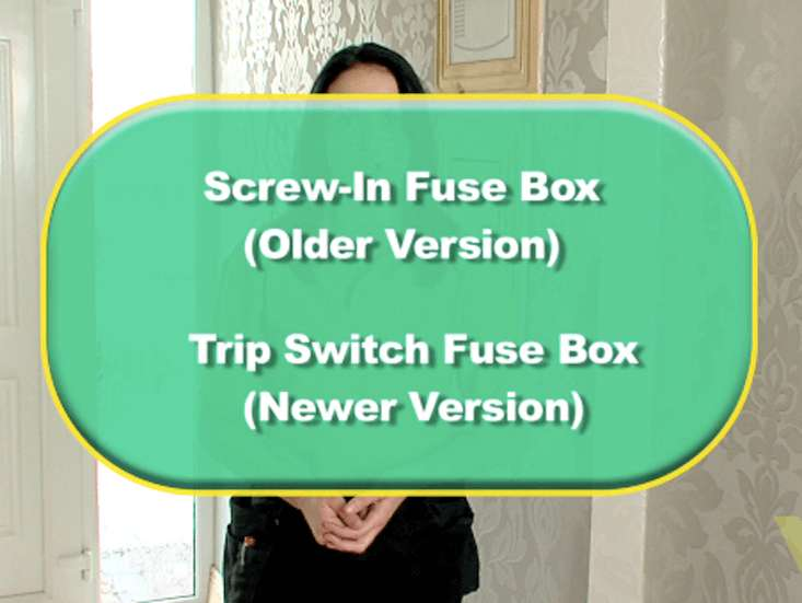 1 there are mainly two types of fuse boxes  the fusebox in your home will  largely depend on when it was last wired  the two types of fuse box are:  screw in