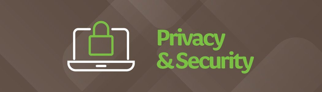 Woodie's Privacy & Security