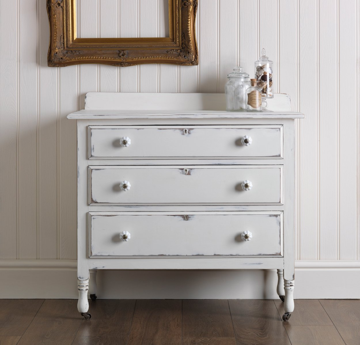 chalky paint - A Chalky Furniture Paint Makeover Woodie's