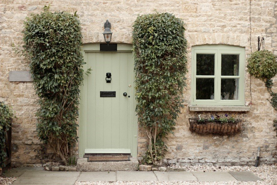 Range Of Exterior Shades To Suit All Homes Available In Both Gloss And Satin For 2017 Cool Greens Blues Are Very On Trend Try Natural Sage