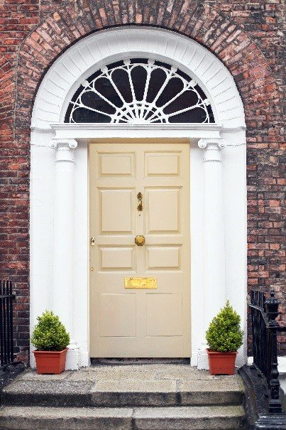 Makeover Your Home With A Painted Hall Door Woodies