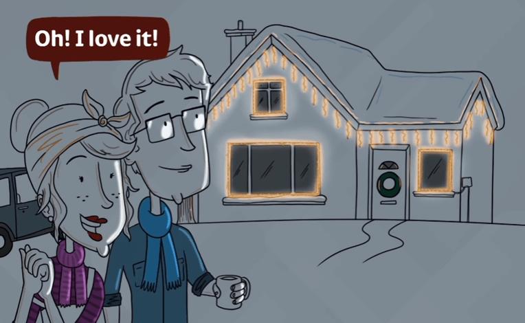How To: Hang Outdoor Christmas Lights