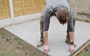 How To: Lay Paving Slabs