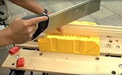 How To: Use A Mitre Box